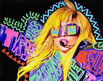 Daily Gaga - Lady Gaga Doodle Bomb Project