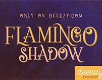 Flamingo Shadow - Free Font