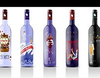 Huntresses Wine Labels