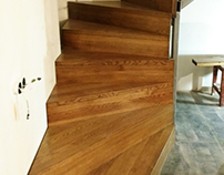 new wooden stairs #6
