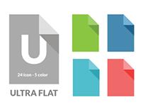 Ultra Flat Icon