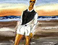 illustration for Nordic Man #5 Spring/Summer 2013