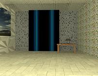 3d Empty Room Modeling Work