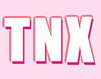 Text Animation: TNX NIX