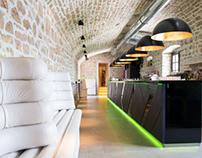 YOLO bar - interior and exterior