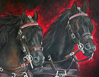 """""""Friesian Horses"""""""