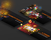 Casino 777.es Banners design