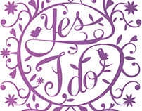 Wedding Passion Notebook - Cover design