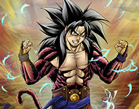 Fanart Goku Ssj4