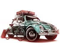 VW Beetle 66'