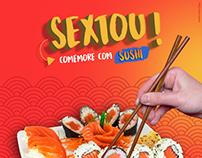 Cliente: Porto Sushi Bar e Porto Sushi Delivery