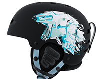 "TSG - Winter Helmet ""polarbear"""