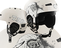 "TSG - Winter Helmet ""Yeti"""