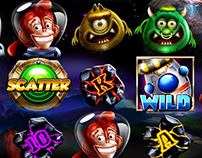 Slot game : Space Monkey