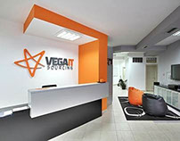 3rd place at Vega IT Sourcing office design competition