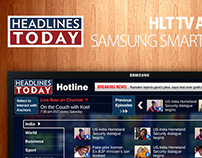 HEADLINES TODAY app for samsung smart tv