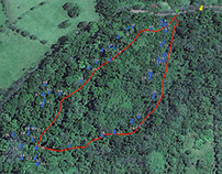 Track Mapping & Tree Inventory at La Reserva
