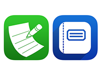 iOS App Icons & Marketing Materials–WritePad & PhatPad