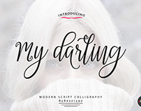 My Darling Script_lovefonts