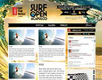 Vans Surf Open Acapulco Minisite