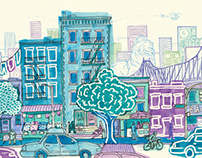 New Commissioned painting of the Upper East Side
