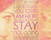 I Am Here to Stay