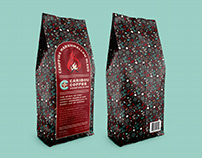 Caribou Coffee Rebrand