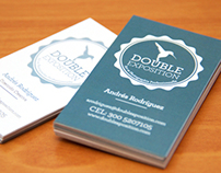 Business Cards Double Exposition