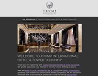 Trump Toronto - Registration Email