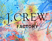 J.Crew Concept for Spring Fashion Posters