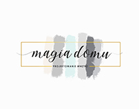 Magia domu - website design