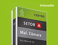 OrientaRio wayfinding concept