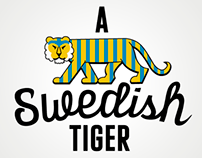 T-shirt Project: A Swedish Tiger