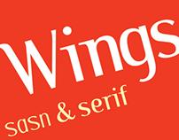 Wings sans & serif