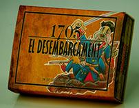 """boardgame """"1705: el desembarcament"""""""