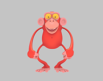 THE RED CHIMP