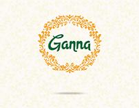 Ganna | Website Concept