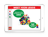 Lego Data App Design