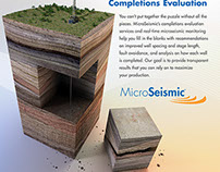 MicroSeismic Advertising Design