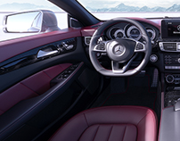 CGI | Mercedes Benz CLS Interior