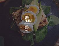 Free restaurant website design