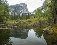Yosemite: Tenaya Creek and Mirror Lake