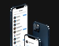 Messenger app concept design