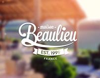 Maison Beaulieu website and branding.