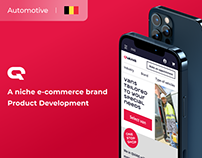 E-commerce for a Major Automotive Seller| UX&UI