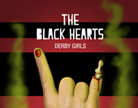 Poster The Black Hearts Derby Girls
