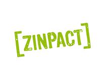 Zinpact logo & identity
