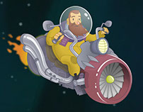 Ivan the Space Biker