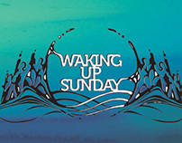 Waking Up Sunday - Branding and identity