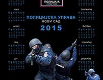 Police calendar 2015